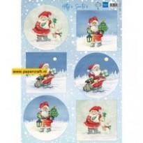 HK1704 Hetty's Santas