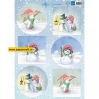 HK1705 Hetty's Snowmen