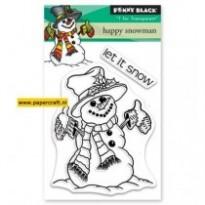 30-503 Happy Snowman