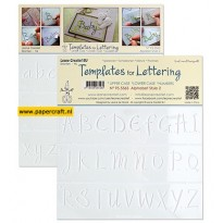 Leane Creatief Templates for Lettering Alphabet Style 2